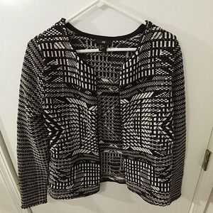 H&M open front sweater